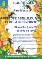 Affiche Fête miel2021